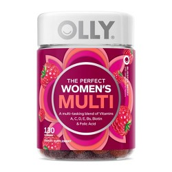 Olly Women's Multivitamin Gummies - Berry - 130ct