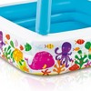 Intex Inflatable Ocean Scene Sun Shade Kids Pool With Canopy   57470Ep (2 Pack) - image 4 of 6