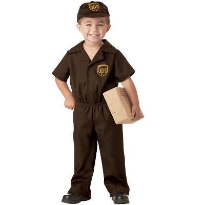 United Parcel Service UPS Guy Toddler Costume