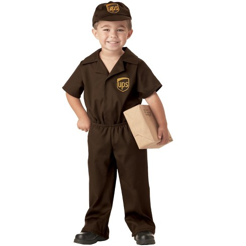 United Parcel Service UPS Guy Toddler Costume - image 1 of 2