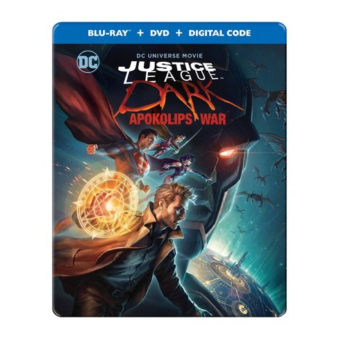 Justice League Dark: Apokolips War (Blu-ray + DVD + Digital) : Target