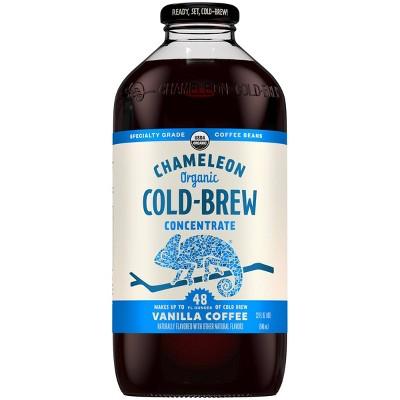 Chameleon Cold Brew Vanilla Coffee Concentrate - 1qt
