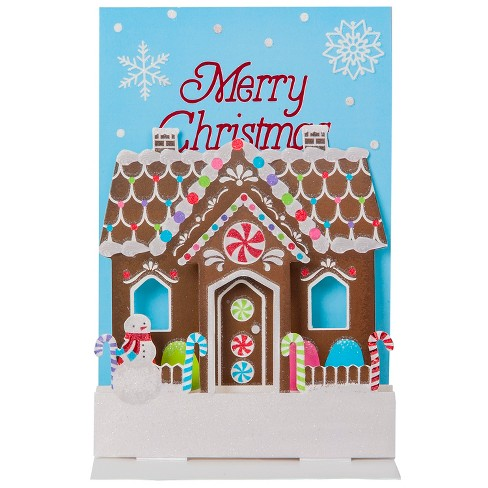 Pop Up Gingerbread Holiday Boxed Cards 8ct-International Greetings - image 1 of 2