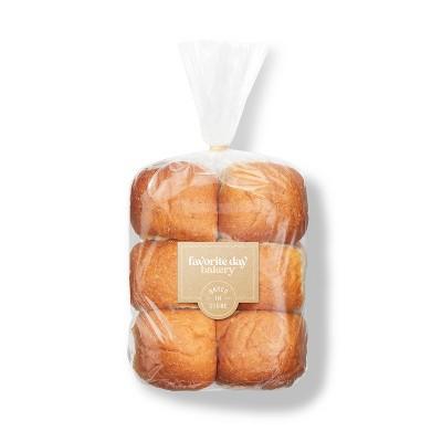 Wheat Dinner Rolls - 14oz/12ct - Favorite Day™