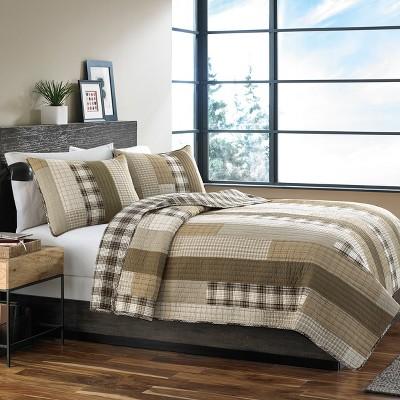 Brown Fairview Quilt Set - Eddie Bauer®