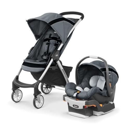 7718d9012838 Chicco Mini Bravo Sport Travel System - Carbon   Target
