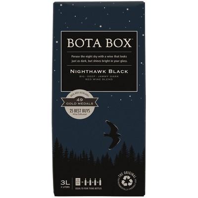 Bota Box Nighthawk Black Red Blend Wine - 3L Box
