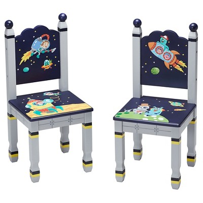 Set of 2 Outer Space Chairs - Fantasy Fields