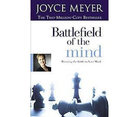 Battlefield of the Mind : Winning the Battle in Your Mind (Large Print) (Hardcover) (Joyce Meyer) - image 1 of 1