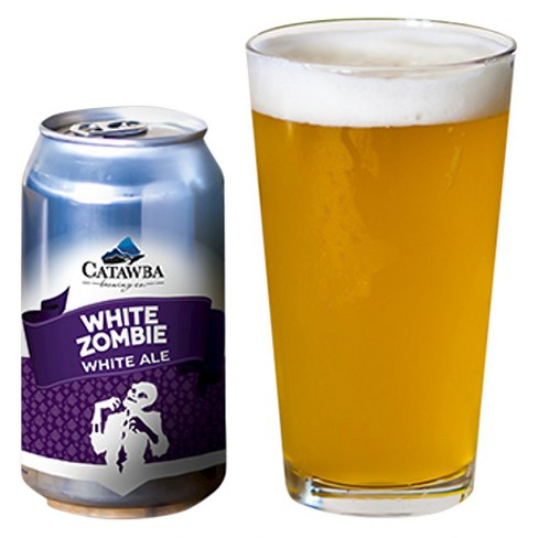 Catawba White Zombie White Ale Beer - 6pk/12 fl oz Cans - image 1 of 1