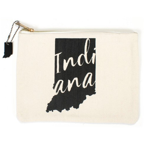 3pk Indiana Totes Includes Zipper Pouch Tote Bag And Wine Cream Bullseye S Playground Target