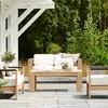Montpelier Wood Rectangle Patio Coffee Table - Smith & Hawken™ - image 2 of 4