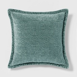 Washed Chenille Pillow - Threshold™
