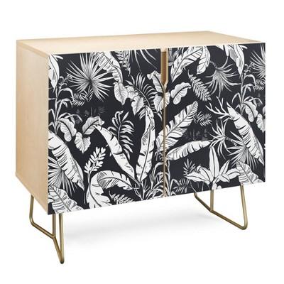 Marta Barragan Camarasa Jungle Credenza Gold - Deny Designs