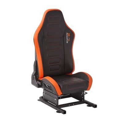 Racing Drift 2.1 Racing Seat with Sound Black/Orange - X Rocker