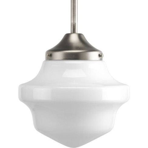 "Progress Lighting P5196 School House Pendant Single Light 8"" Wide Mini Pendant - image 1 of 1"
