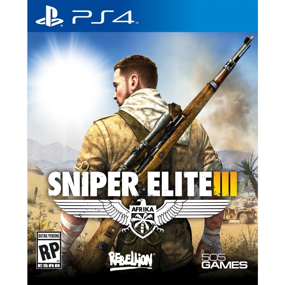 Sniper Elite Iii Afrika PlayStation 4