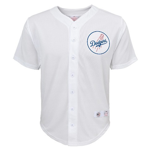 Los Angeles Dodgers Boys' Yasiel Puig Jersey White S - image 1 of 2