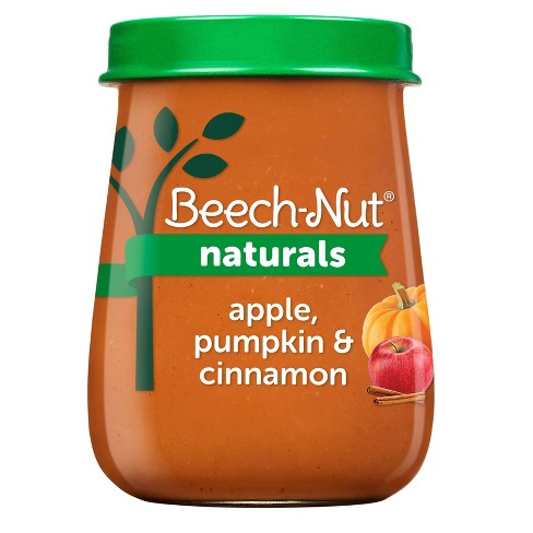 Beech-Nut Naturals Apple Pumpkin & Cinnamon Baby Food Jar - 4oz - image 1 of 4