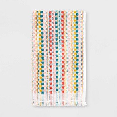 Multi Striped Sonoma Hand Towel - Opalhouse™