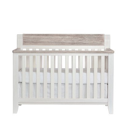 Suite Bebe Hayes 4-in-1 Convertible Crib - White/Natural