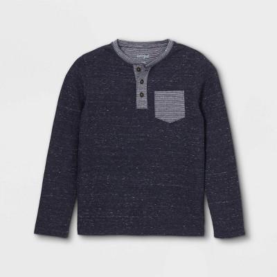 Boys' Double Knit Long Sleeve T-Shirt - Cat & Jack™