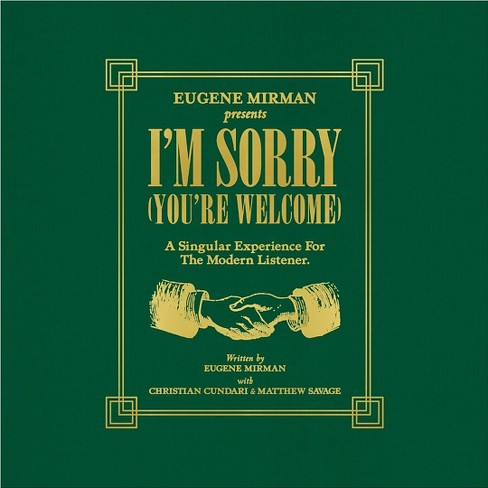 Eugene mirman - I'm sorry (You're welcome) (Vinyl) - image 1 of 1