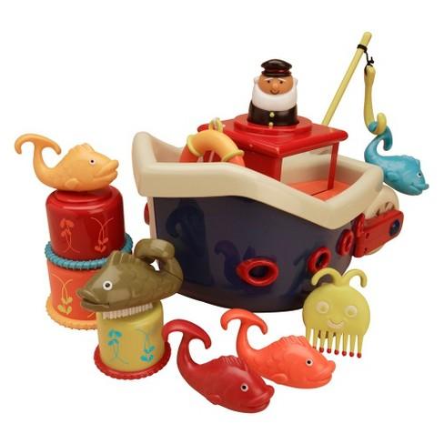B. Toys Fish N Splish Bath Boat - image 1 of 4