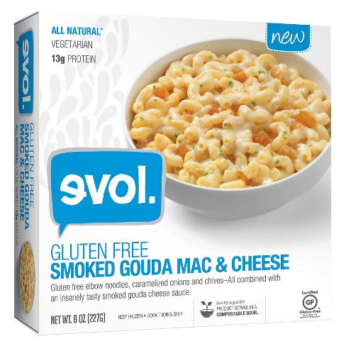 Evol Gluten Free Smoked Gouda Frozen Mac and Cheese - 8oz - image 1 of 1