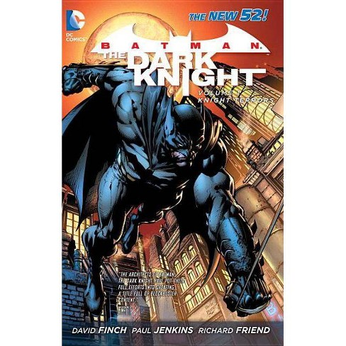 Batman: The Dark Knight Vol. 1: Knight Terrors (the New 52) - by  David Finch & Paul Jenkins (Paperback) - image 1 of 1