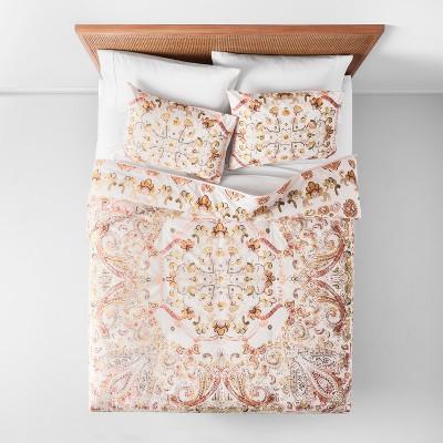 Desert Rose Medallion Comforter Set (Full/Queen)3pc - Opalhouse™