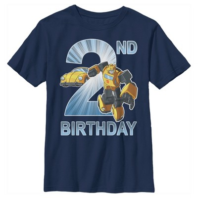 Boy's Transformers Bumblebee 2nd Birthday T-Shirt