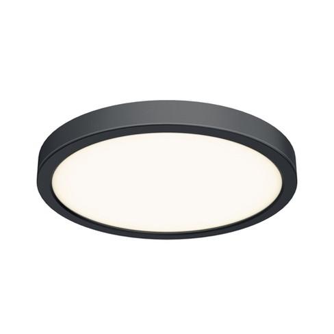 "DALS Lighting CFLEDR14 Indoor/Outdoor 14"" Wide LED Flush Mount Ceiling Fixture - 3000K & 1600 Lumens - image 1 of 4"