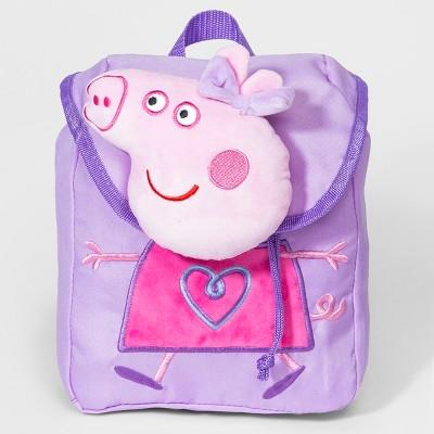 072420e5cef Girls  Peppa Pig Plush Backpack - Purple.  14.99. Girls  Peppa Pig Plush  Backpack - Purple. Girls  Mickey Mouse   Friends Minnie ...
