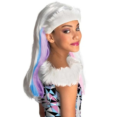 Rubie's Monster High Abbey Bominable White Costume Wig Child