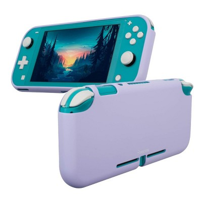 Insten Silicone Case for Nintendo Switch Lite - Shockproof Protective Cover Accessories with Smooth Grip, Purple