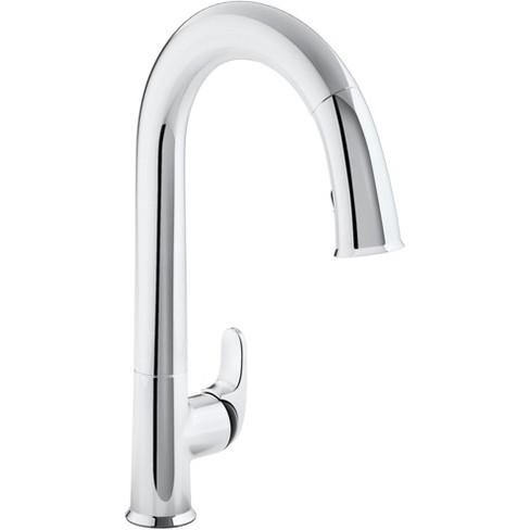 Kohler K 72218 B7 Sensate Touchless Pullout High Arch Kitchen Faucet