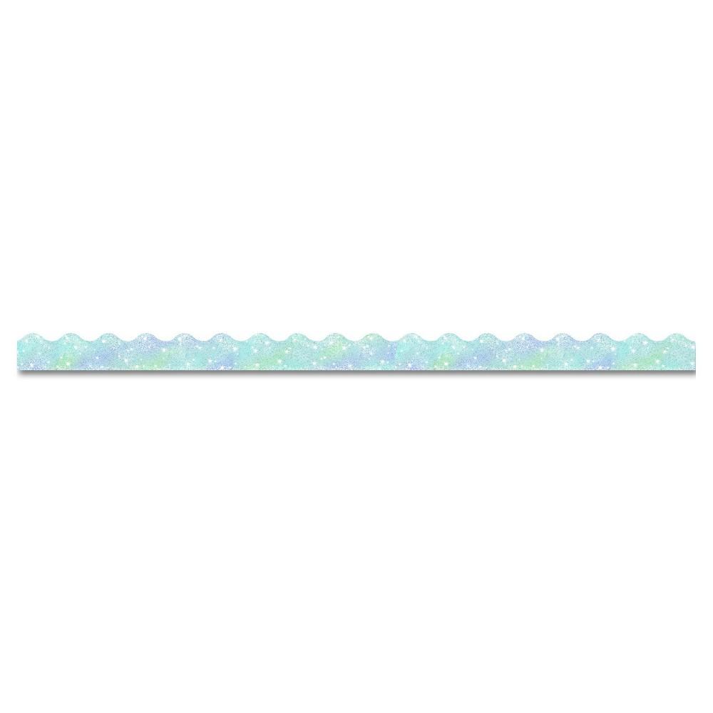"Image of ""TREND Terrific Trimmers Sparkle Border, 2 1/4"""" x 39"""" Panels, Silver, 10/Set"""