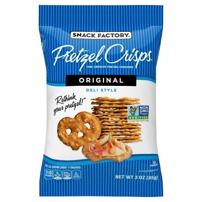 Snack Factory Pretzel Crisps - 3oz