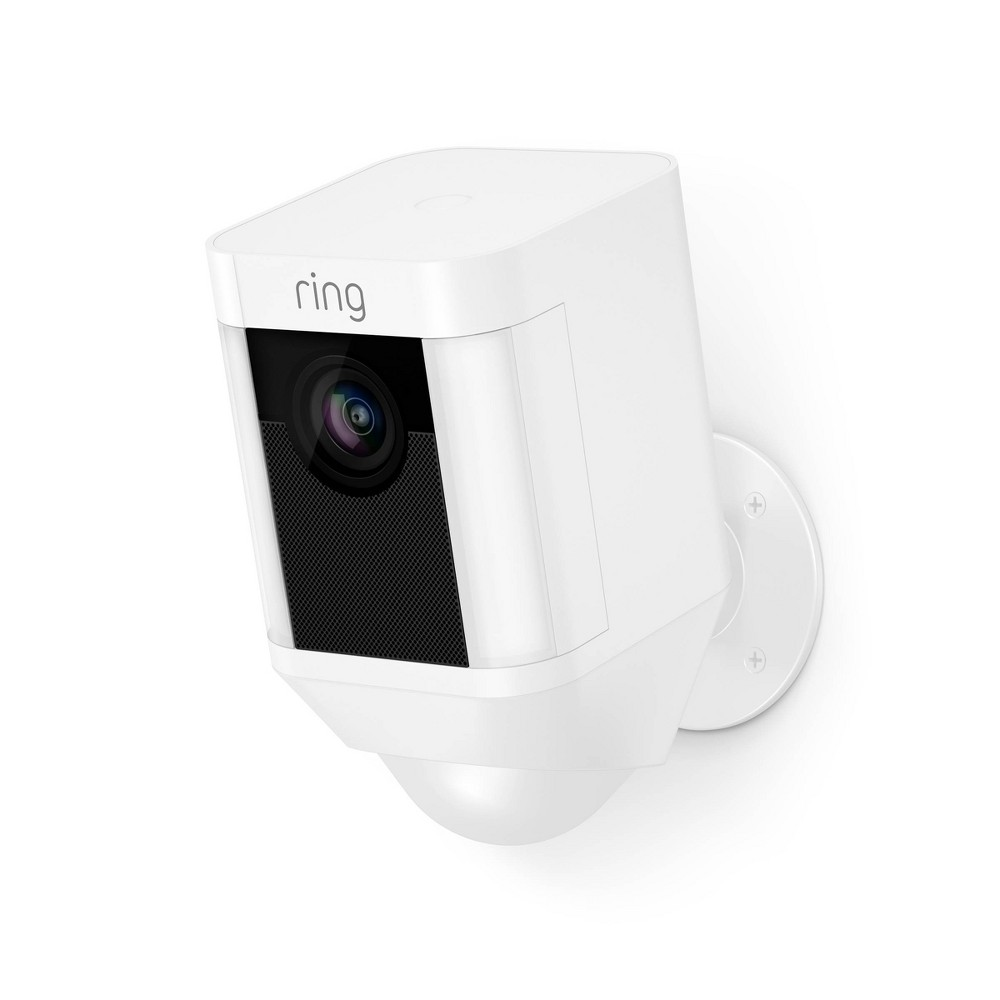 Ring® Spotlight Battery Operated Security Camera in White