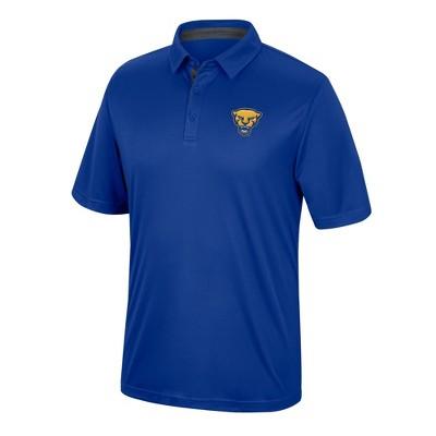 NCAA Pitt Panthers Men's Short Sleeve Polo Shirt
