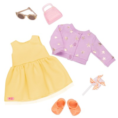 "Our Generation Fashion Outfit with Accessories for 18"" Dolls - Sunshine & Stars"