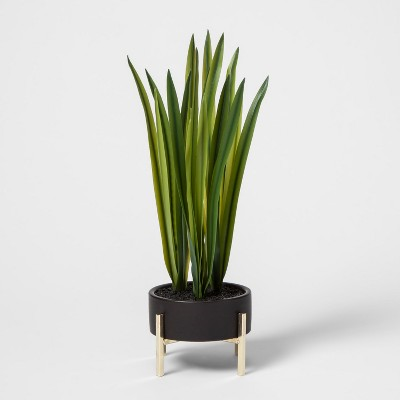 Faux Grass in Black Planter - Project 62™