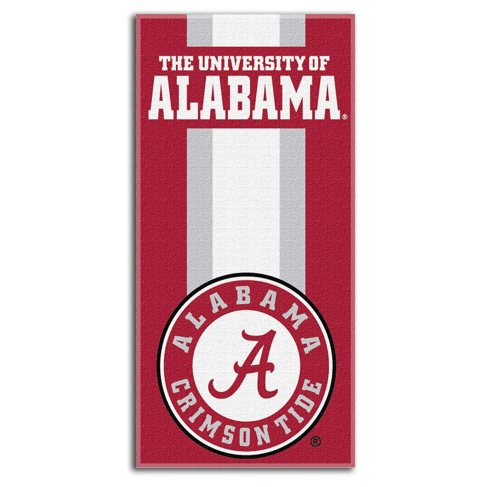 NCAAAlabama Crimson Tide Beach Towel, Alabama Crimson Tide - Red