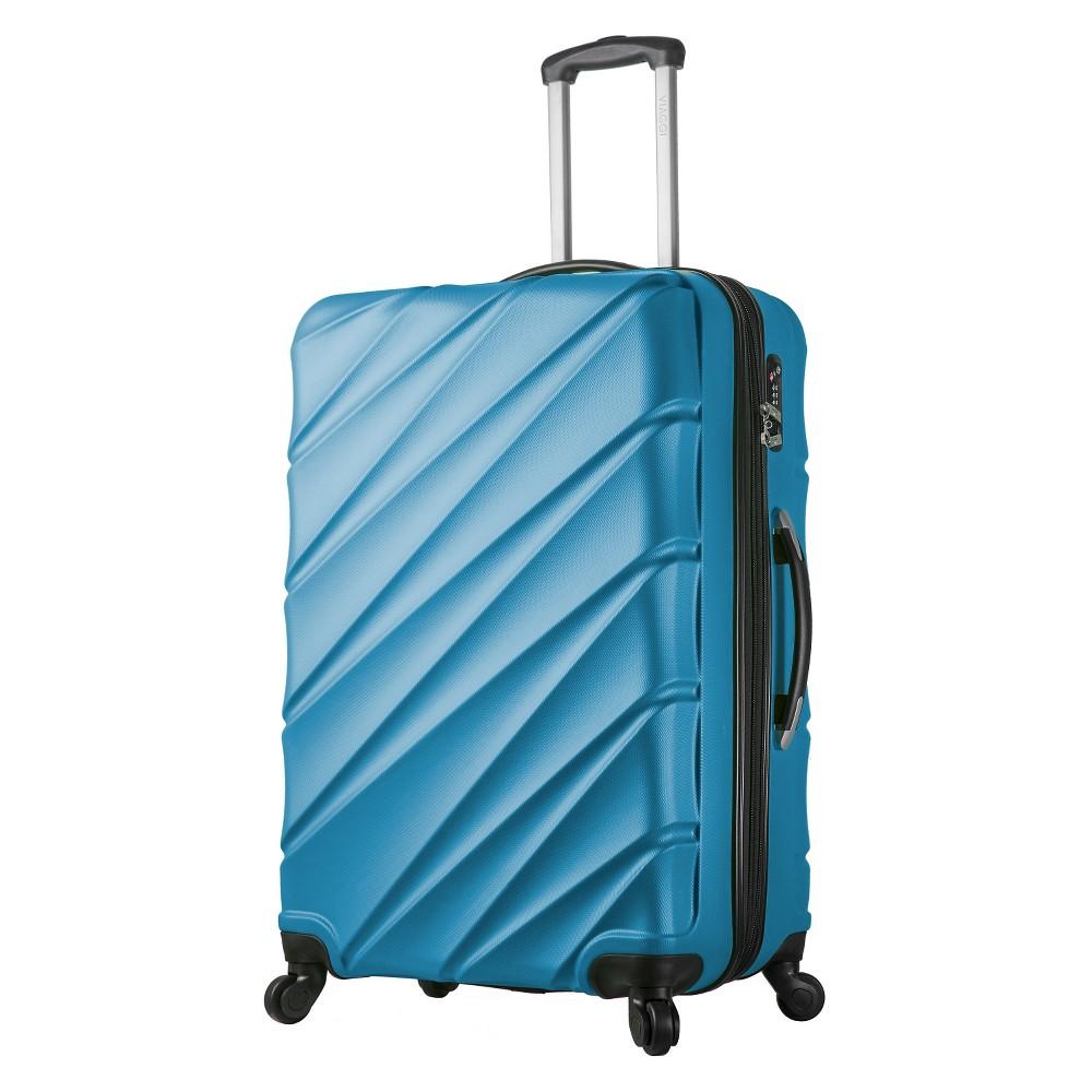 Mia Viaggi Lodi 28 Hardside Spinner Suitcase - Blue