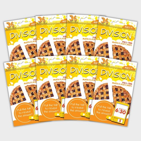8pk Division Flashcards - Bendon - image 1 of 3