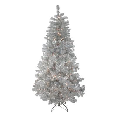 Northlight 7.5' PrelitArtificial Christmas Tree Full Metallic Pine - Clear Lights