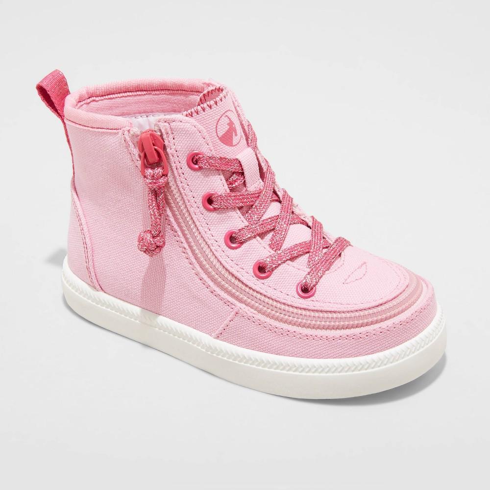 Toddler Billy Footwear Zipper High Top Apparel Sneakers Pink 9