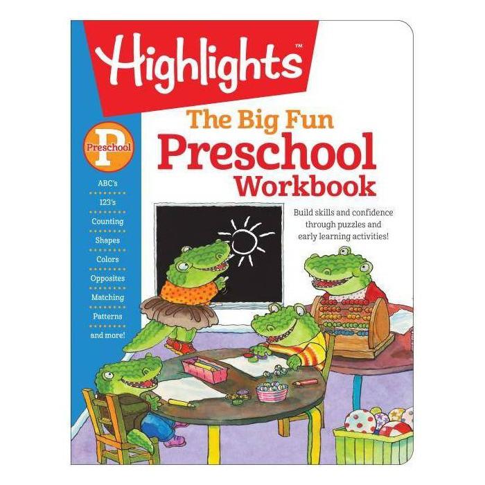 Big Fun Preschool Activity Book (Workbook) (Paperback) : Target