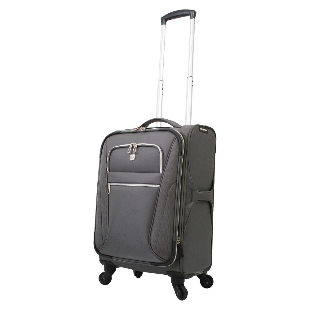 Swissgear Checklite Ultra Liteweight 20 Carry On Suitcase Charcoal
